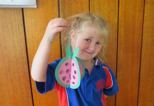 3-D Fruit Craft